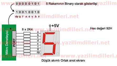 7 segment display example