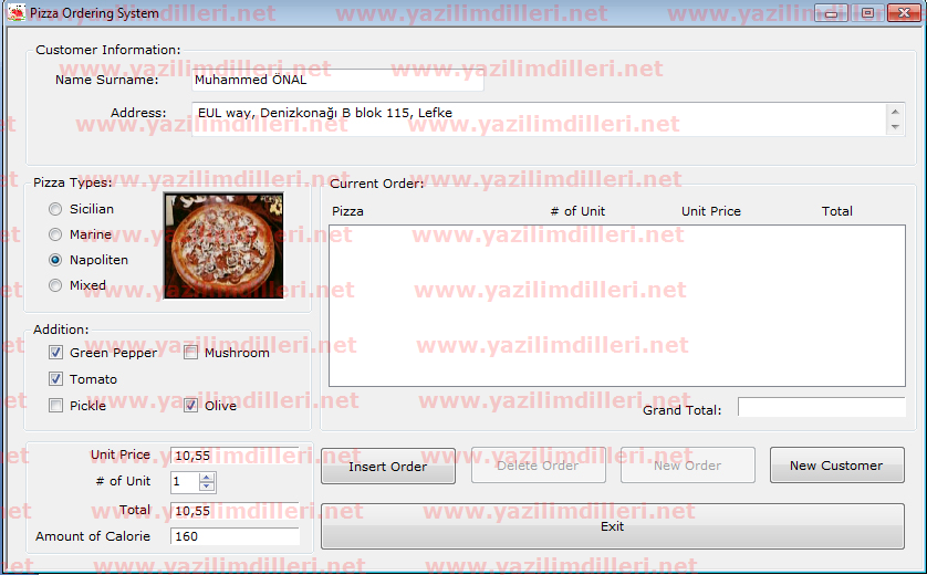 web based pizza ordering systems Introduction the pizza ordering system is a new system that replaces the current manual and telephone processes for ordering and picking up lunches in the.