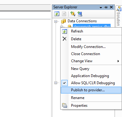 Visual Studio 2005 ve Database Publishing Wizard